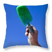 Hot N Cold Throw Pillow
