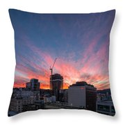 Hot Property Throw Pillow