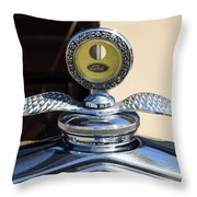 Hot Rod Car Instrument Detail Throw Pillow