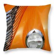 Hot Rod Headlight Throw Pillow