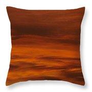 Hot Skies Throw Pillow