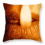 Hot Spot Throw Pillow