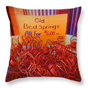 Hot Springs Throw Pillow