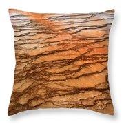 Hot Stones Throw Pillow