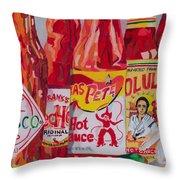 Hot Stuff Throw Pillow