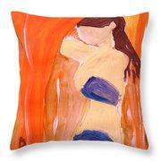 Hot Summer Day Throw Pillow