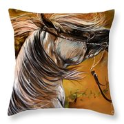 Hot Temper Throw Pillow