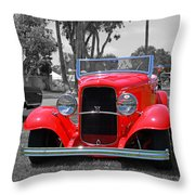 Hot V8 Throw Pillow