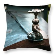 Hot Water Throw Pillow
