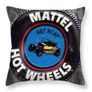 Hot Wheels Hot Heap Throw Pillow