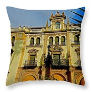 Hotel Alfonso Xiii - Seville Throw Pillow