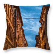 Hotel Bigallo Throw Pillow