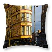 Hotel Bostwick Throw Pillow