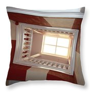 Hotel Ceiling Throw Pillow