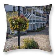 Hotel De Haro Throw Pillow