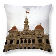 Hotel De Ville Saigon Throw Pillow