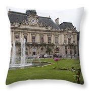Hotel De Ville - Tours Throw Pillow