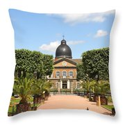 Hotel Dieu - Macon Throw Pillow