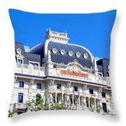 Hotel Gallia Throw Pillow