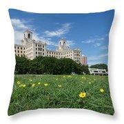 Hotel Nacional De Cuba Throw Pillow