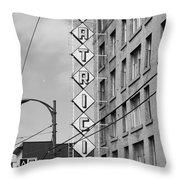 Hotel Pats  Throw Pillow
