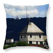 Hotel Roanoke And Star Throw Pillow