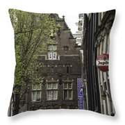 Hotel The Globe Amsterdam Throw Pillow
