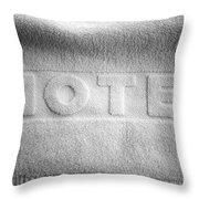 Hotel Towel Throw Pillow