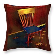 Hotseat In Hell Throw Pillow