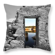 Houghton Through The Magic Door Throw Pillow