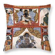Hour Of Birth: Arabic Ms Throw Pillow