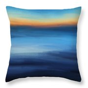 Hour Of Dreams Throw Pillow
