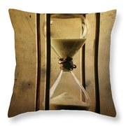 Hourglass  Throw Pillow by Bernard Jaubert