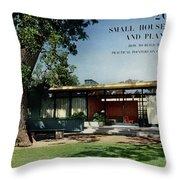 House & Garden Cover Of The Kurt Appert House Throw Pillow