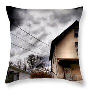 Old House 3 Throw Pillow