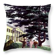 House And Garden Houses For All Tastes Cover Throw Pillow