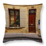House Arles France Dsc01781  Throw Pillow