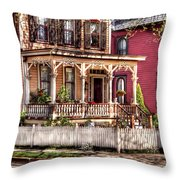 House - Country Victorian Throw Pillow