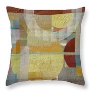 House Divided Two Throw Pillow