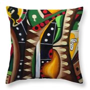 House Games II Throw Pillow