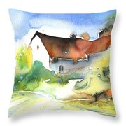 House In Germany Throw Pillow