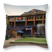 House Of Blues Downtown Disneyland Throw Pillow