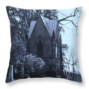 House Of Corpses Throw Pillow
