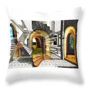House Of Dreams Throw Pillow