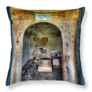 House Of God Throw Pillow by Adrian Evans