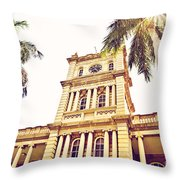House Of Heavenly Kings Throw Pillow