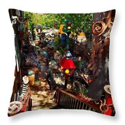 House Of Joy Throw Pillow
