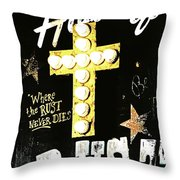 House Of Rust Throw Pillow