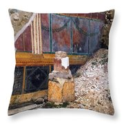 House Of The Silver Wedding, Damaged Throw Pillow
