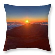 House Of The Sun Throw Pillow